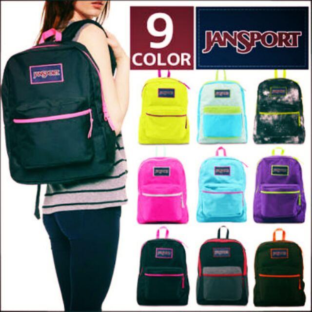 Authentic and original jansport bags  66da90c39a624