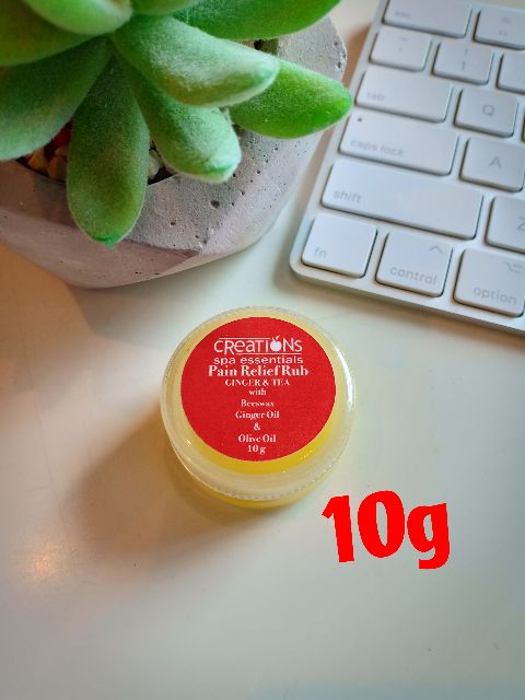 Creations Spa Essentials Pain Relief Rub 10g