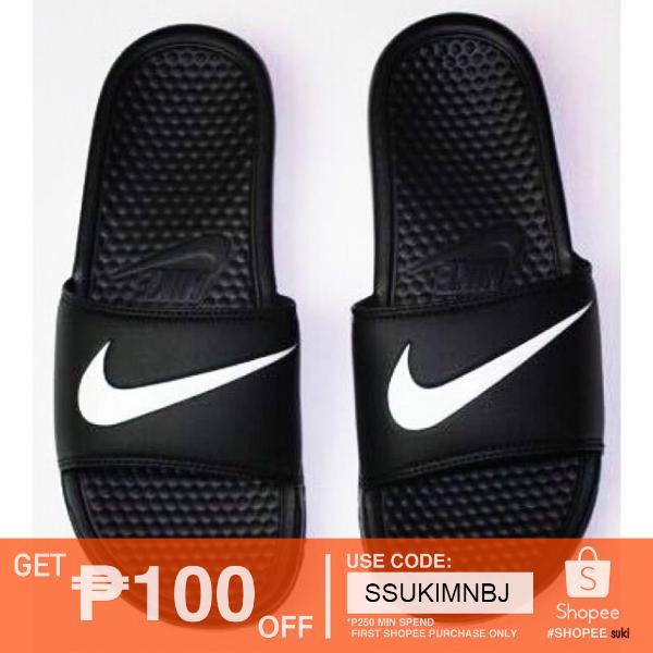 best website fa9c8 891d7 Nike slippers men women shots assorted color