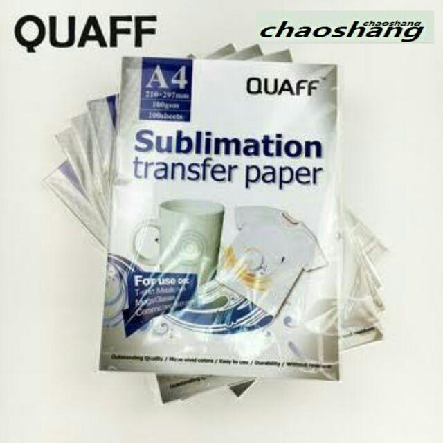 c6b27a5a QUAFF Sublimation Paper 100GSM A3 Pink (50 sheets) | Shopee Philippines