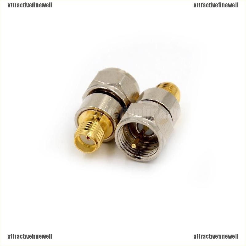 Pack of 2 DT SMA Female to Female Connector RF Coaxial Adapter