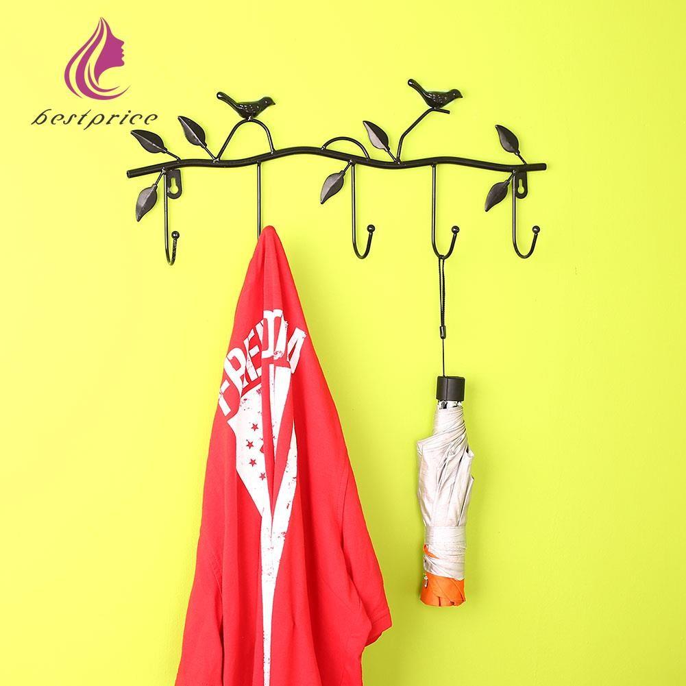 6X Kitchen Wall Door Square Stick Holder Hook Hanger | Shopee Philippines