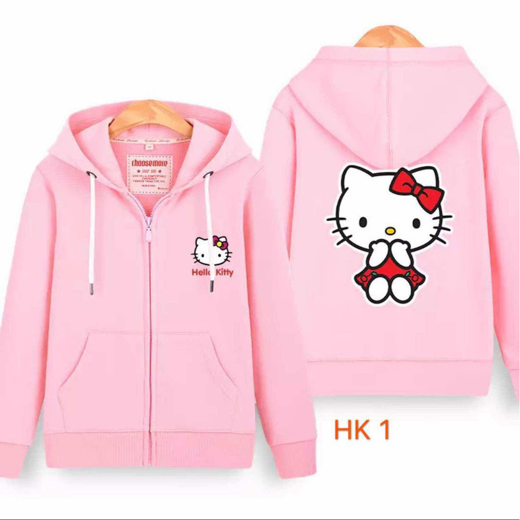 75bc1f5d0 Hello Kitty Hoodie Jacket | Shopee Philippines