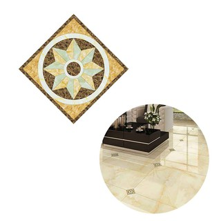 10pcs 3D Diagonal Tile Seam Stickers Film Self Adhesive Floor Wall