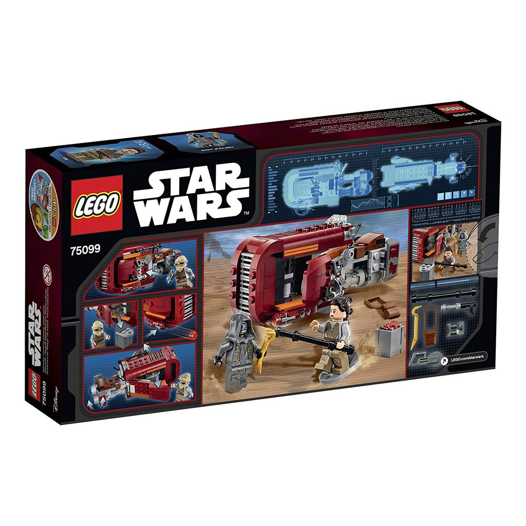 SwThe Awakens Wars 75099Shopee Star Speeder Lego Rey's Force D29WEHIeY