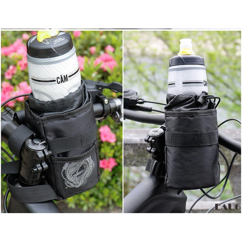 Eau6 Ready Stock Bike Handlebar Bottle Bag Bicycle Stem Insulated Water Bottle Bag Cup Holder For Drinks Food Snack Shopee Philippines