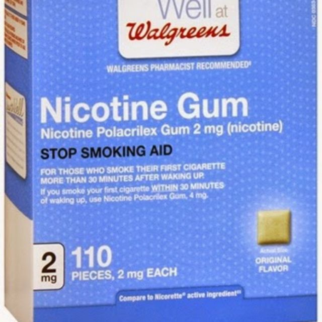 Nicotine Gum Stop Smoking