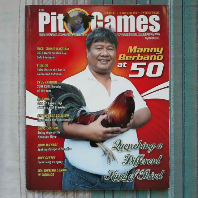PIT GAMES magazine - #30 - 2000's - Manny Berbano - SABONG