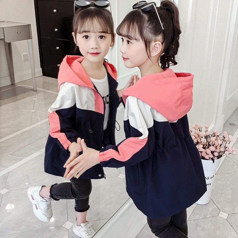 2020Children Girls Coats And Jackets Boys Leather Casual Turn-down Collar Jacket
