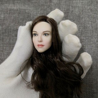 "1//6 Woman Head Daisy Ridley Rey Sculpt Model F 12/"" Female Body Action Figure Toy"