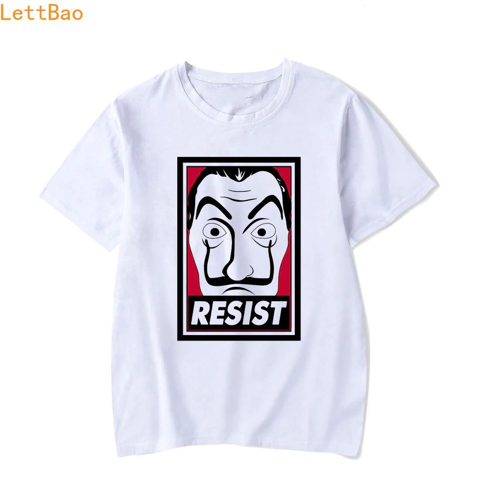 House Of Paper Money Heist La Casa De Papel Men T Shirt Funny Pl Cotton  Vogue