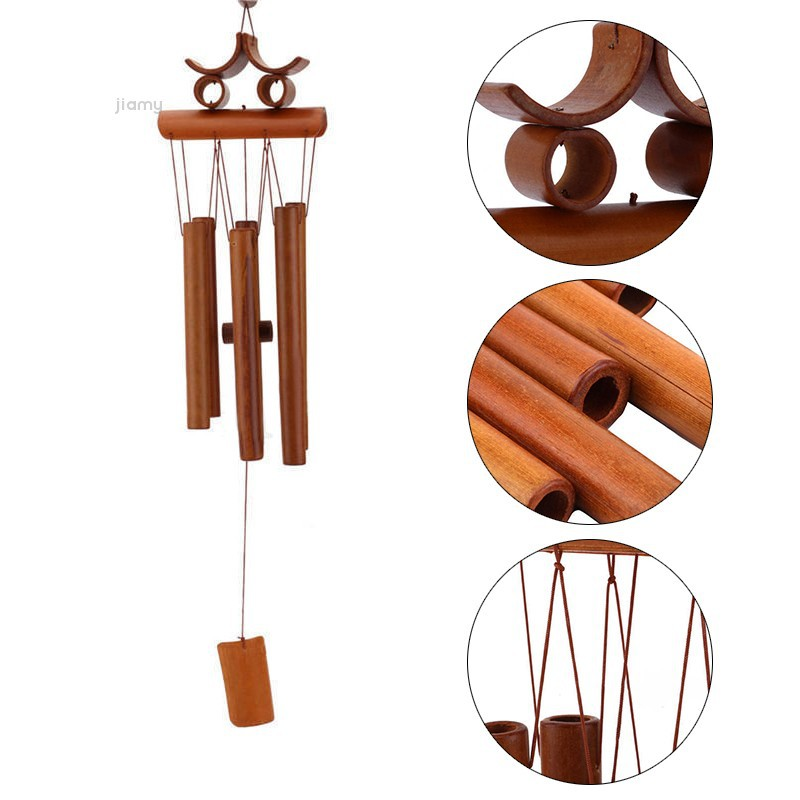 S Type 15 Tube Wood Music Wind Chimes Creative Birthday Gift Bedroom Balcony Courtyard Garden Outdoor Metal Pipe Wind Chime Or Wind Chimes & Hanging Decorations Home & Garden