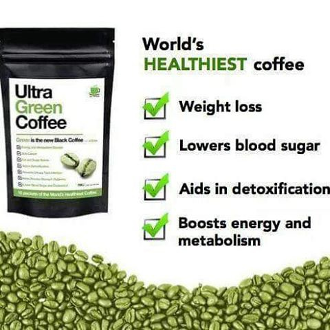 Ultra Green Coffee Pack Slimming Coffee Onhand Shopee Philippines