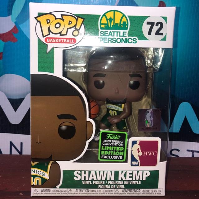 2020, Toy NUEVO - Funko Pop Shawn Kemp Nba: Sonics Home Legends