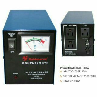 Secure PR-500W Surge Protector AVR | Shopee Philippines