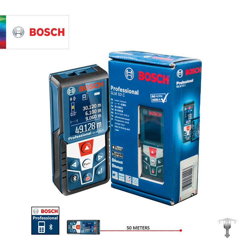 bosch glm 50 c professional laser rangefinder with bluetooth shopee philippines. Black Bedroom Furniture Sets. Home Design Ideas
