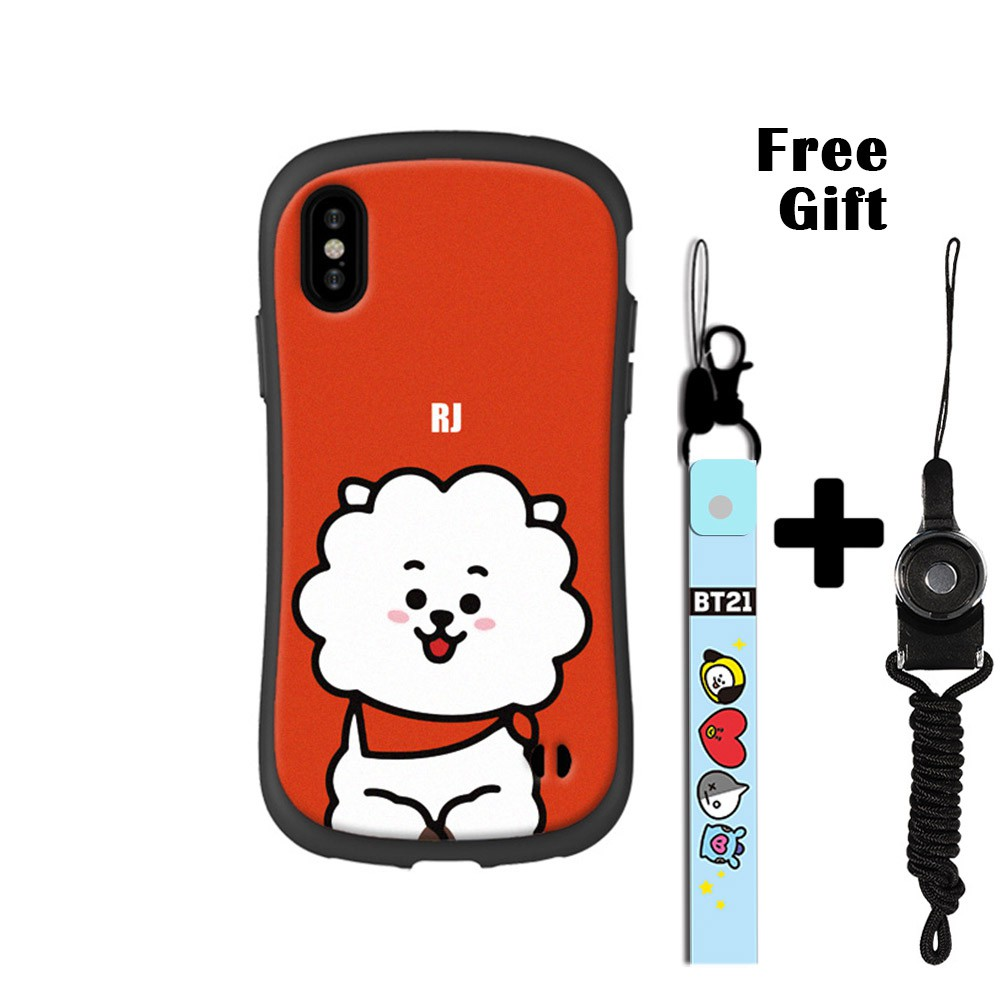 new product dcf92 67ddf Korea BTS BT21 iPhonex TPU PHONE CASE for iphone(RJ)