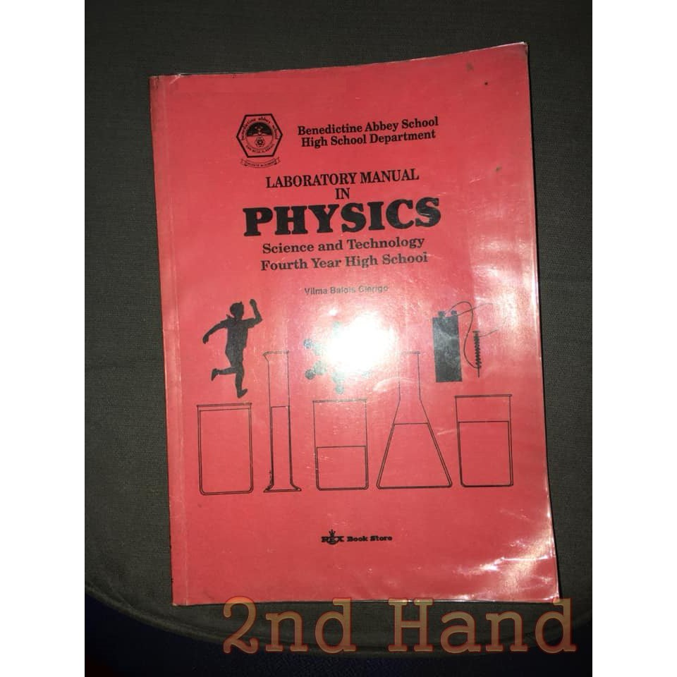 Laboratory Manual in Physics (4th year High School)