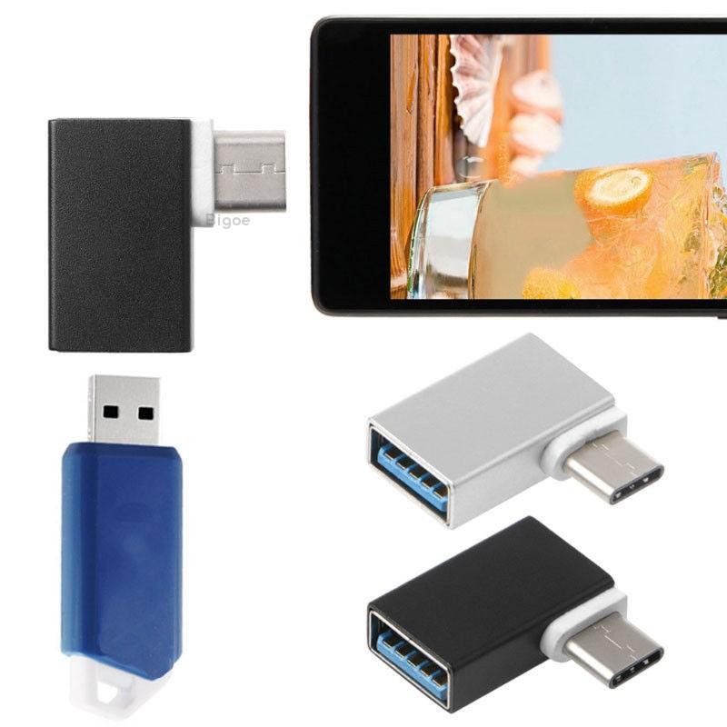 1x USB-C USB 3.1 Type C Male To USB 3.0 Female Data OTG Converter Adapter Good
