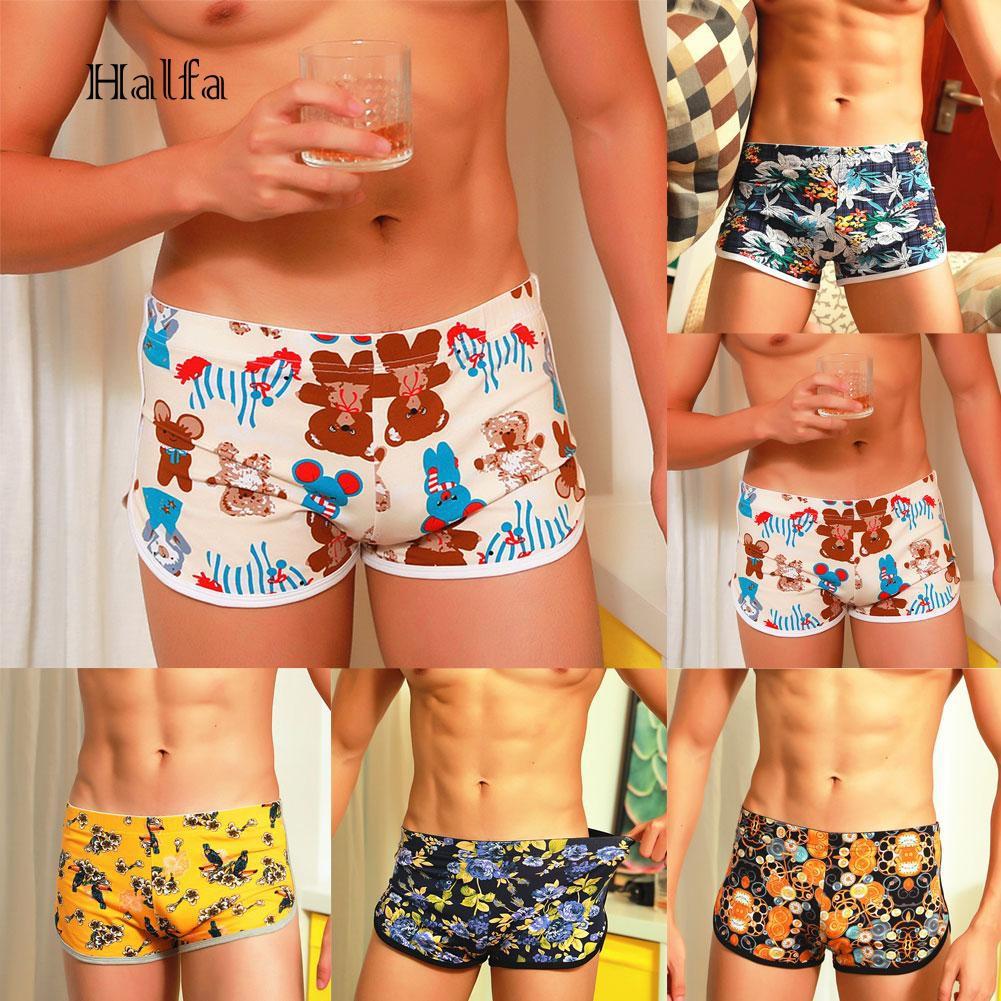 Panda Animal Boxer Briefs for Men Mens Comfortable Underwear