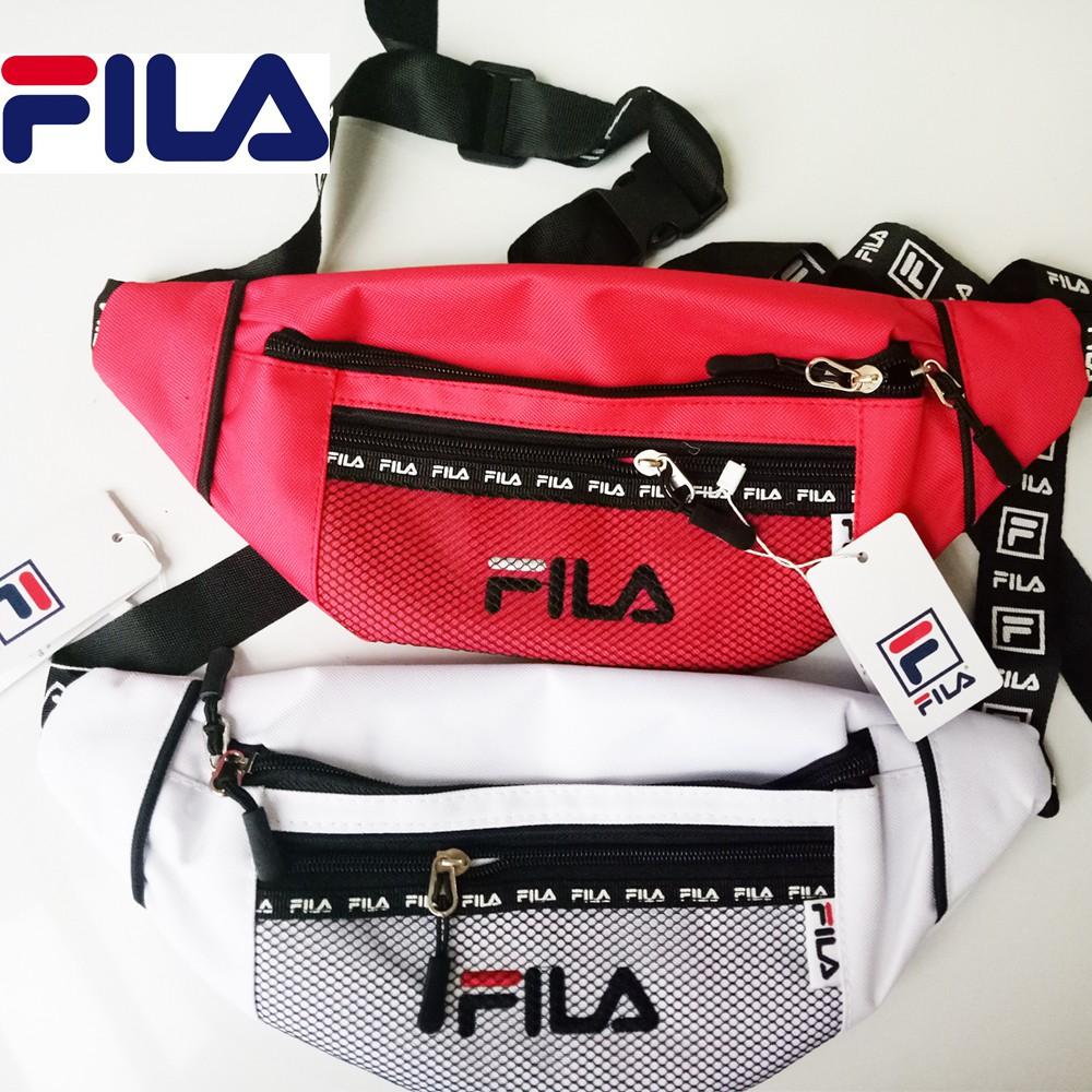 FILA Chest Bag   Waist bag Pouch   Sling bag men women  f1f83d7fbbd23