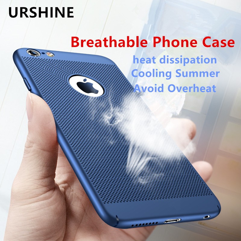 iPhone 6 6s plus Hard Cover Ultra Slim Heat Dissipation Case