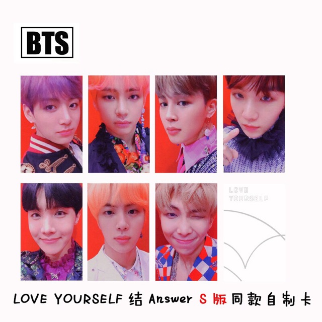 Bts Love Yourself Answer Album Photocard Unofficial