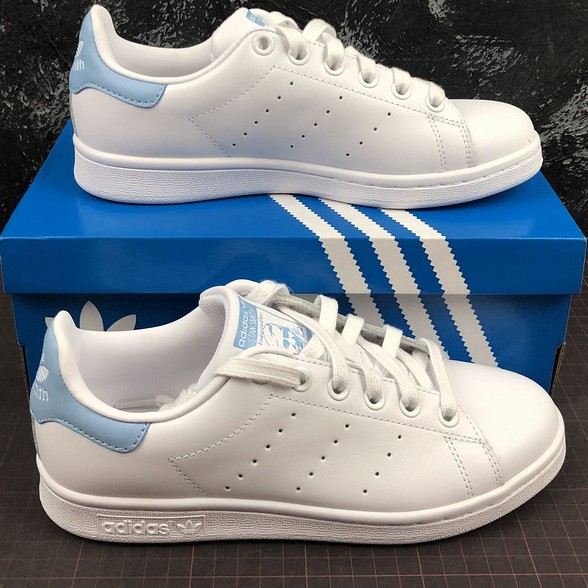 Imperativo biblioteca caridad  Adidas STAN SMITH Running shoes for men women sneaker casual jogging walk  shoes Light Blue BA7673 | Shopee Philippines