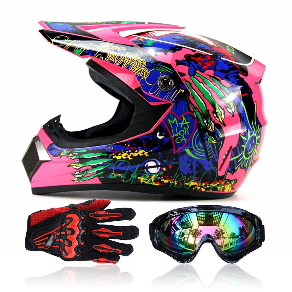 2018 shoes ever popular run shoes DOT Motorcycle Motocross Helmet Goggles Gloves Outdoor S-XL