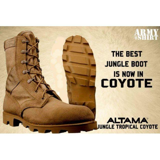 Altama Tactical Brown Boots
