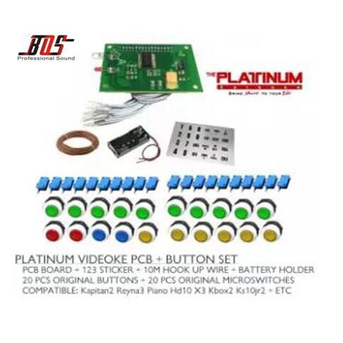PCB Remote + on Set For Videoke Machine PLATINUM on