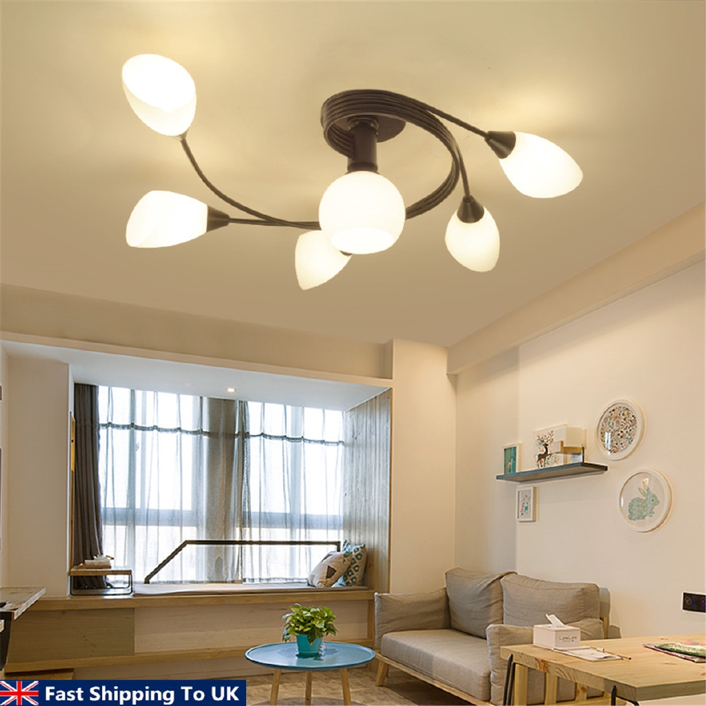 Picture of: Modern Ceiling Light Home Bedroom Pendant Chandeliers Lamp Lighting Fixtures Shopee Philippines