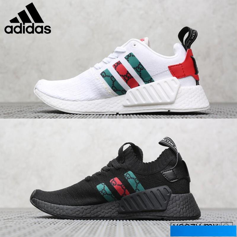 pretty nice 02689 1e1a7 Adidas NMD R2 Men's and Women's Shoes Sports Running Shoes Light and  Breathable