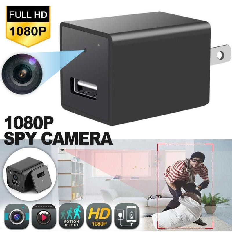 WiFi HD 1080P USB Wall Charger Mini IP Motion Hidden Spy Camera Home Security