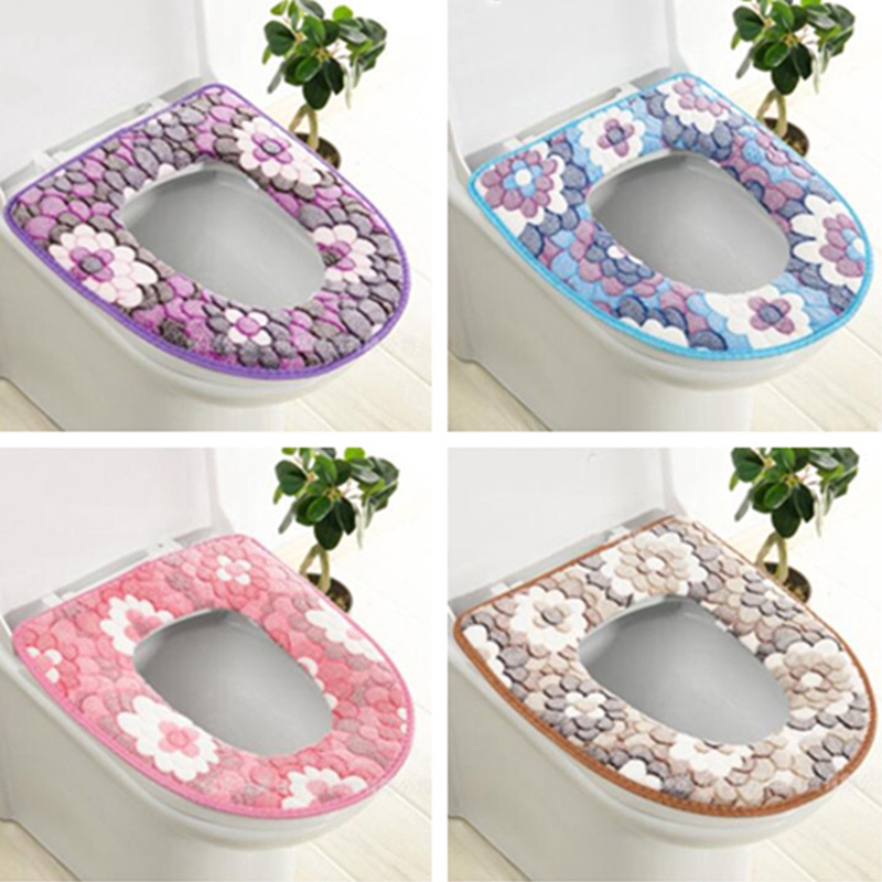Soft Toilet Seat Pad Bathroom