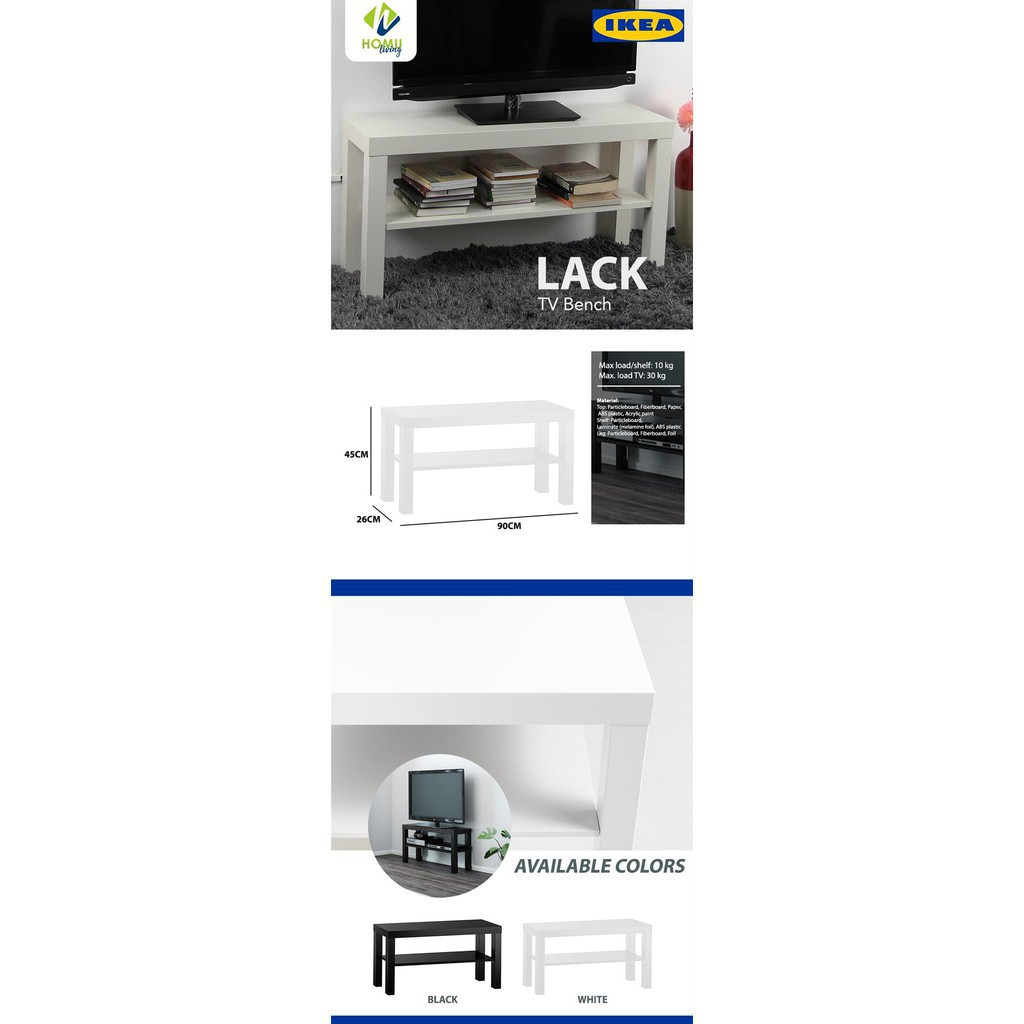 Fantastic 10 10 Salebelow Srp Lack Tv Bench Short Links Chair Design For Home Short Linksinfo