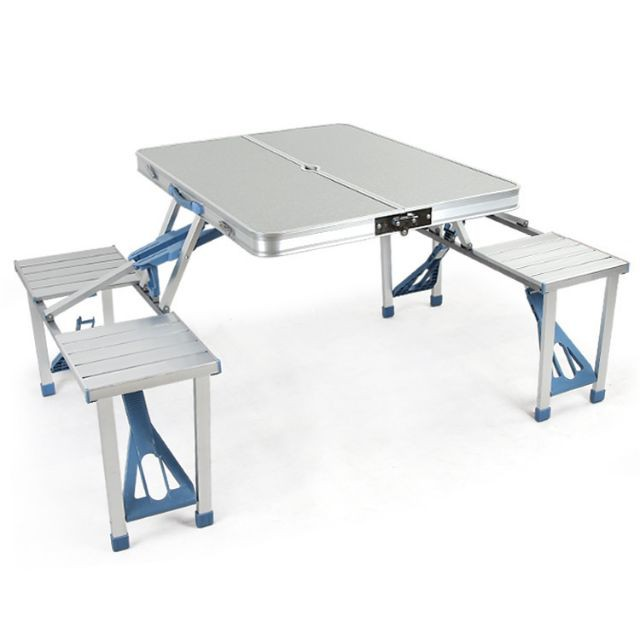 Folding Table And Chair Suit Shopee Philippines