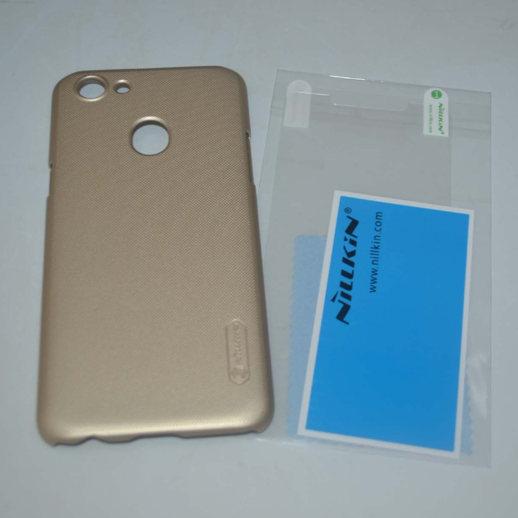 Nillkin Frosted Shield Hard Case for Oppo F5 (Gold)