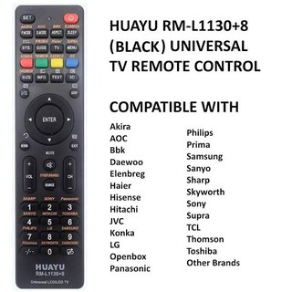 Universal RM-L1107 LCD LED TV Remote Control 433 Mhz