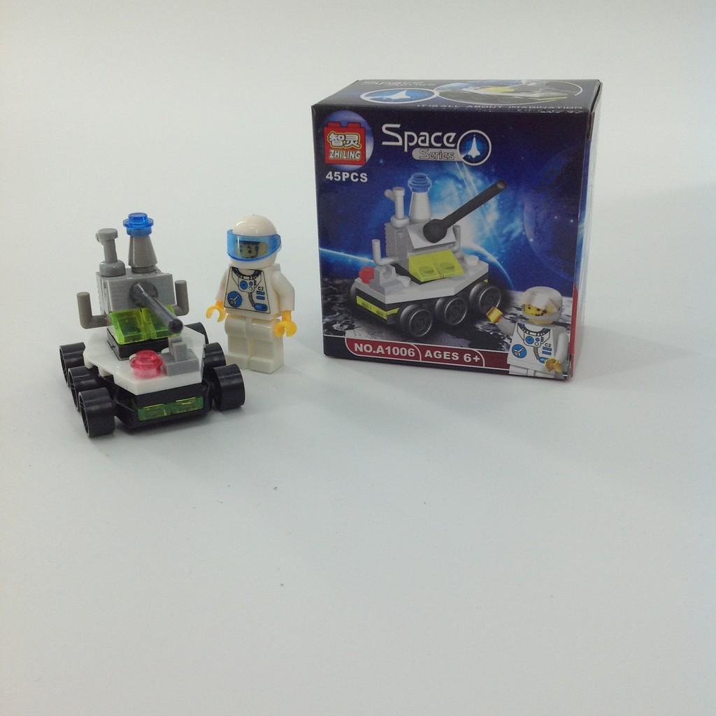 LEGO Trans Orange Plate 1x1 Lot of 100 Parts Pieces 3024
