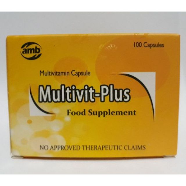Multivit-Plus Multivitamin 100 capsules
