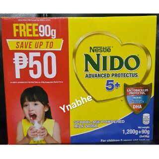 Nestle Nido 5+ 1 2kg+90g Advanced Protectus Powder Milk Drink