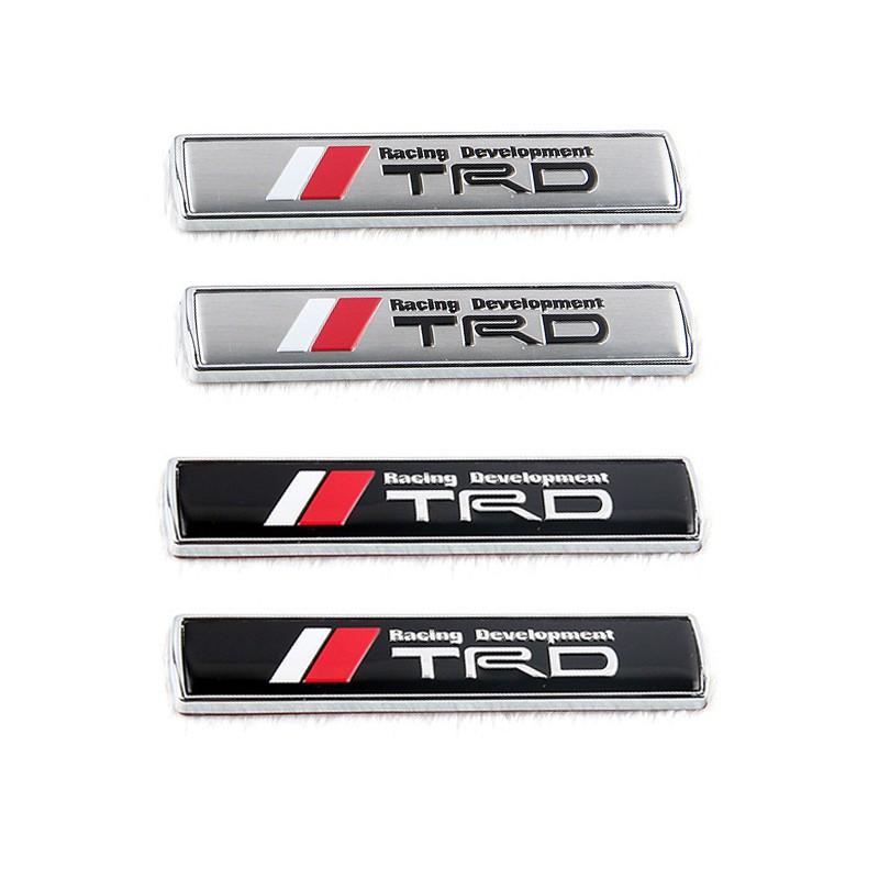 2x Car Side Fender Sticker Badge Emblem Accessories Ralliart Logo For Mitsubishi