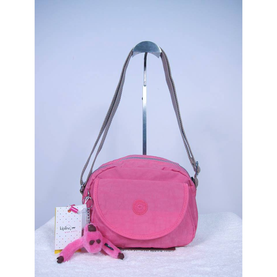 9699c9d73e Kipling Amiel Medium Handbag Neon Peach