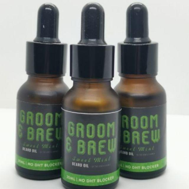 Sweet Mint Beard Oil (NO DHT BLOCKER)