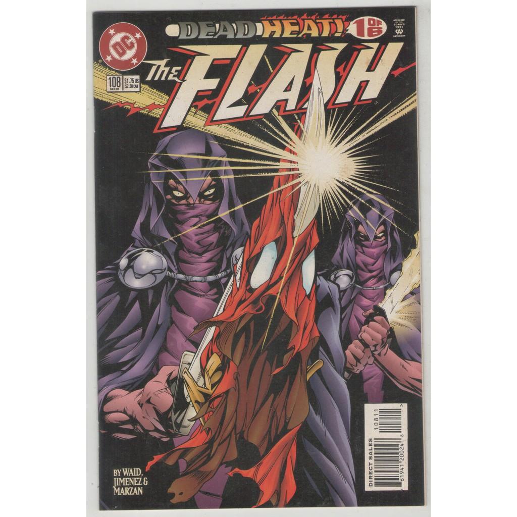 Flash 108 138 1995 98 Intro Black Flash Savitar Tv Villains Jla Impulse 1990 S Comic Books Shopee Philippines