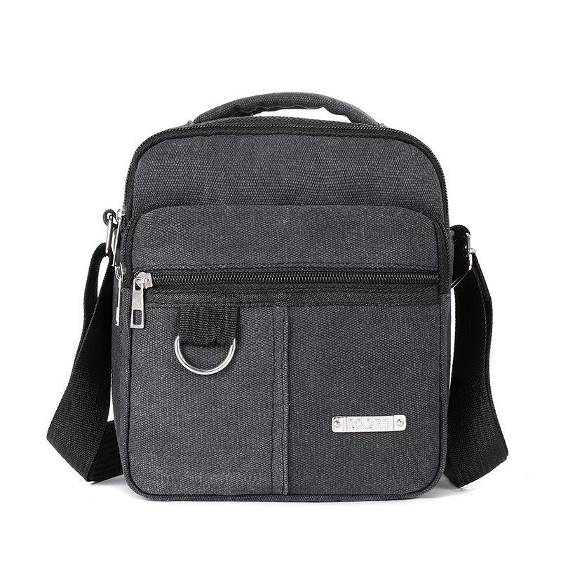 Jocestyle Mens Messenger Bags Canva Satchel Shoulder for Travel Hiking