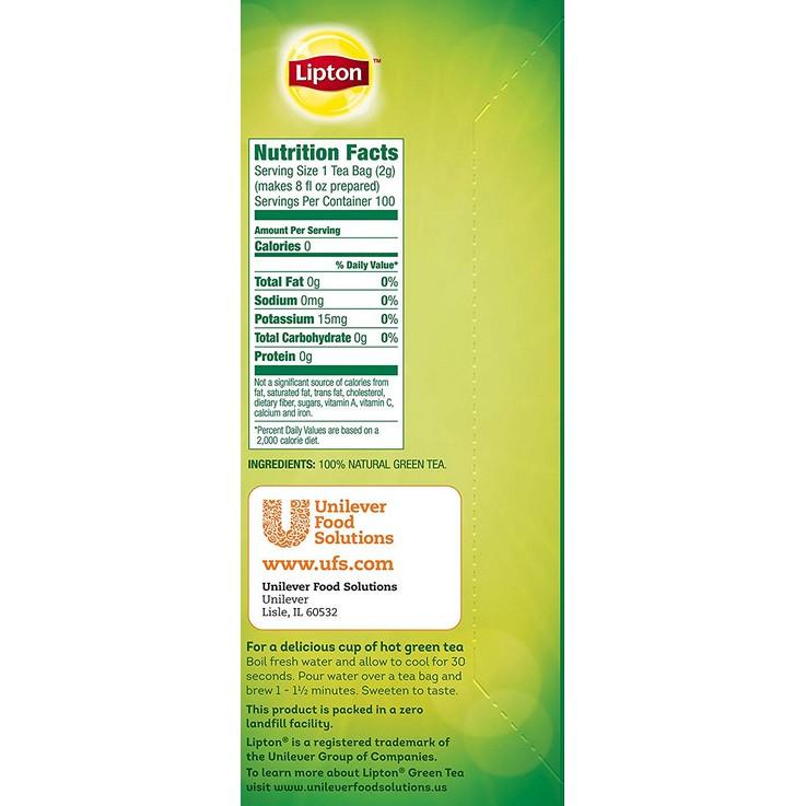 Lipton Pure Green Tea 100% Natural