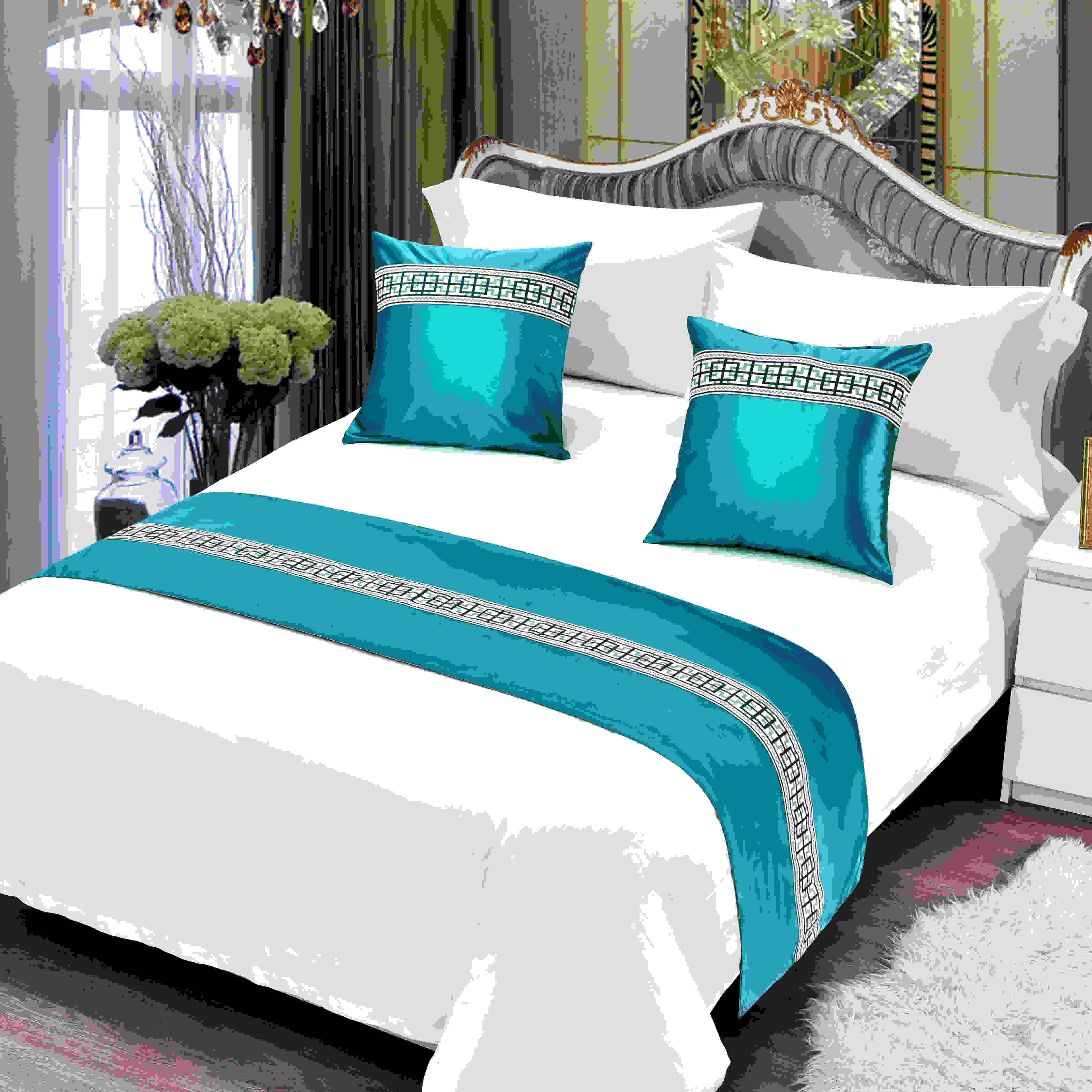 Five Star Hotel Bedding European Style Simple Modern Bed Runner Bedspread Bed Runner Factory Direct Shopee Philippines