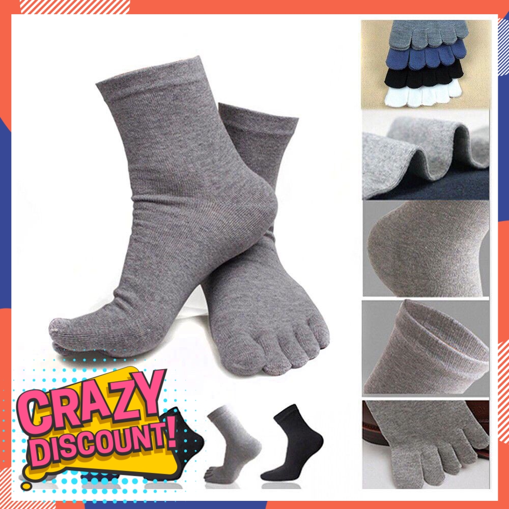 8496bf4741cc 1 Pairs Fashion Cotton Five Finger Socks For Men And Women